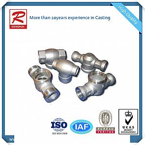 Metal Casting for Pipe Fittings with Leaking Test
