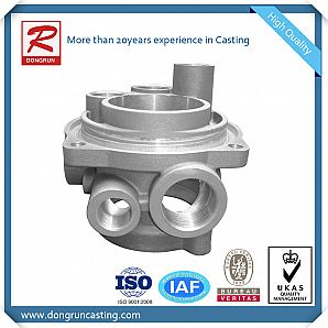 Aluminum Casting Heat&Cooler Exchanger parts with CNC Machining