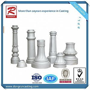 Cast Aluminum Outdoor Lighting Decoration Base