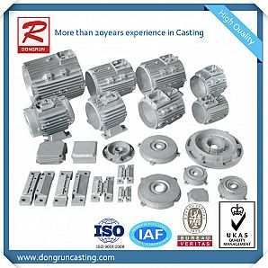 Aluminum Permanent Mold Casting for Motor Housings